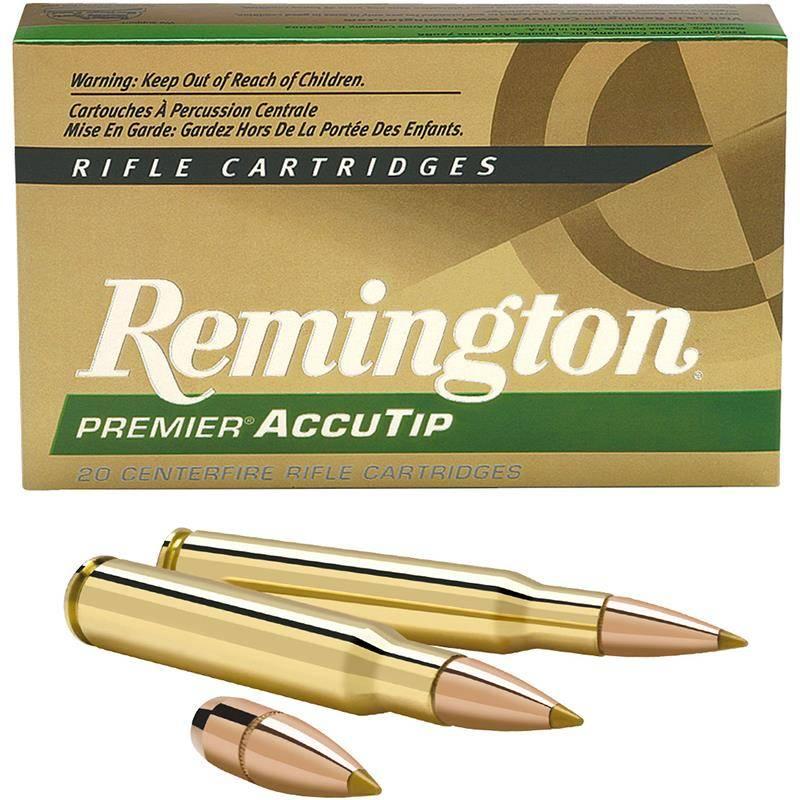 Balle De Chasse Remington Premier Accutip - 140Gr - Calibre 7 Rm
