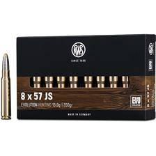 Balle de chasse rws evolution - 200gr - calibre 8x57 js