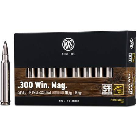 BALLE DE CHASSE RWS SPEED TIP PRO - 165GR - CALIBRE 300 WIN MAG