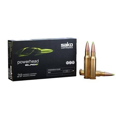 Balle De Chasse Sako Powerhead Blade - 230Gr - Calibre 9,3X62