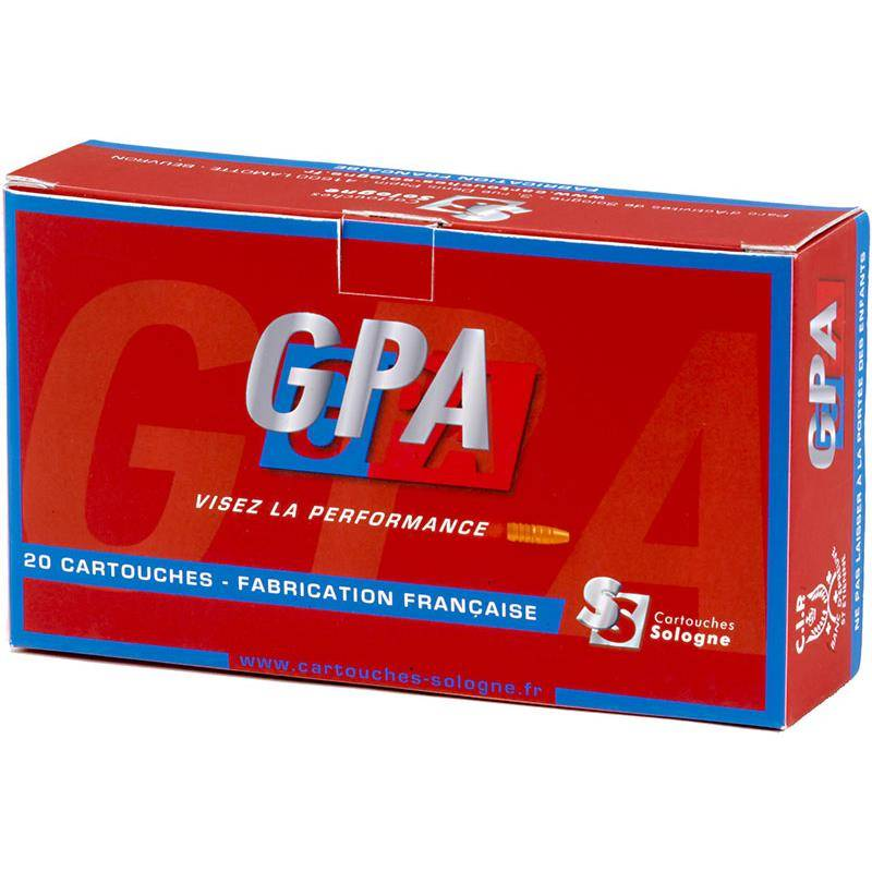 Balle De Chasse Sologne Gpa - 179Gr - Calibre 9.3X74r