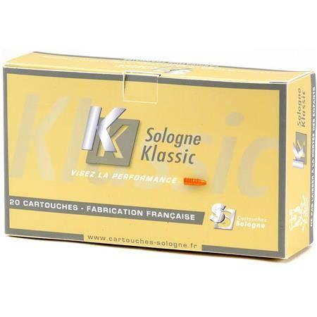 Balle De Chasse Sologne Klassic - 55Gr - Calibre 222 Rem