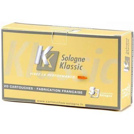 BALLE DE CHASSE SOLOGNE KLASSIC DEGOL - 177GR - CALIBRE 7 RM