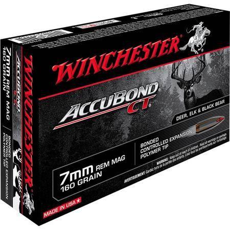 Balle De Chasse Winchester Accubond - 160Gr - Calibre 7 Rm
