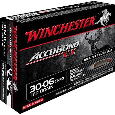 Balle De Chasse Winchester Accubond - 180Gr - Calibre 30-06 Sprg