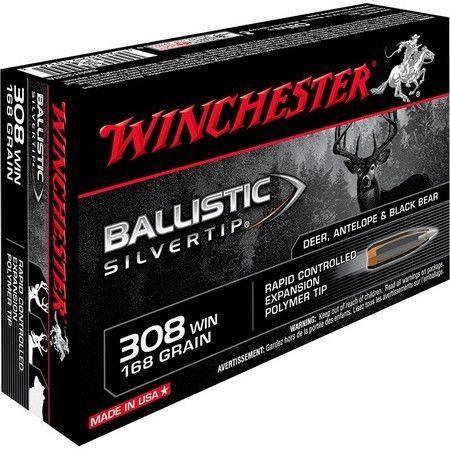 Balle De Chasse Winchester Ballistic Silvertip - 150Gr - Calibre 308 Win