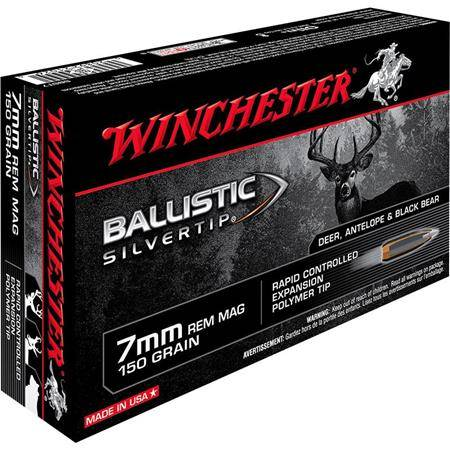 Balle De Chasse Winchester Ballistic Silvertip - 150Gr - Calibre 7 Rm