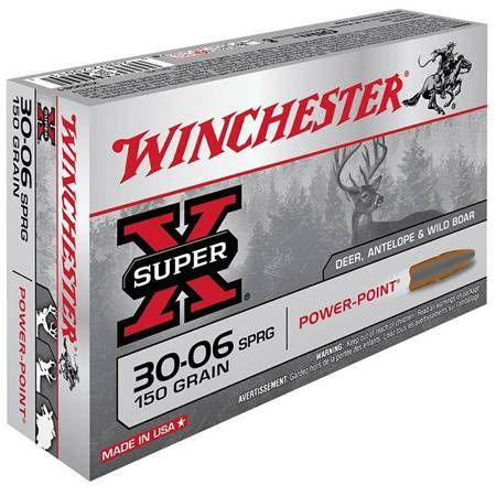 Balle De Chasse Winchester Extreme Point - 150Gr - Calibre 30-06 Sprg