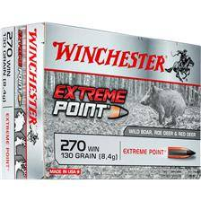 Balle de chasse winchester extreme point lead free - 130gr - calibre 270 win