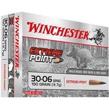 Balle de chasse winchester extreme point lead free - 150gr - calibre 30-06 sprg