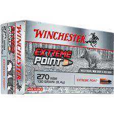 Balle de chasse winchester extreme point plomb - 130gr - calibre 270 wsm