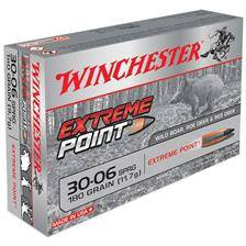 Balle de chasse winchester extreme point plomb - 150gr - calibre 30-06 sprg