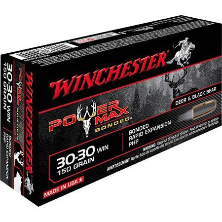Balle De Chasse Winchester Power-Max Bonded - 150Gr - Calibre 30-30 Win