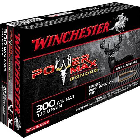 Balle De Chasse Winchester Power-Max Bonded - 150Gr - Calibre 300 Win Mag