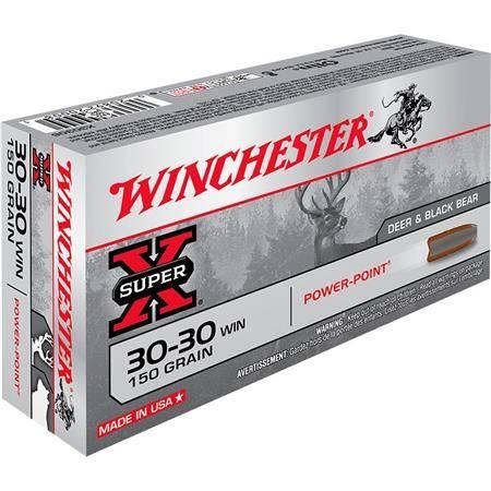 Balle De Chasse Winchester Power Point - 150Gr - Calibre 30-30 Win