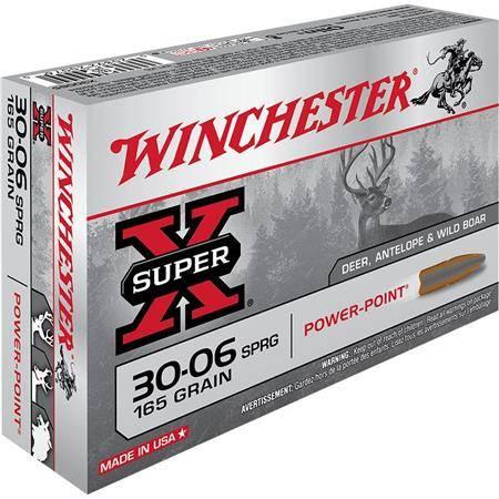 Balle De Chasse Winchester Power Point - 165Gr - Calibre 30-06 Sprg