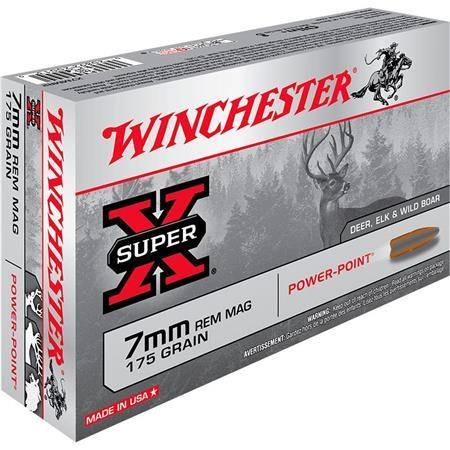 Balle De Chasse Winchester Power Point - 175Gr - Calibre 7 Rm