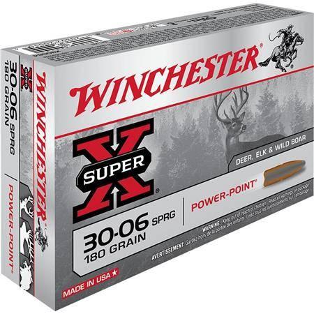 Balle De Chasse Winchester Power Point - 180Gr - Calibre 30-06 Sprg