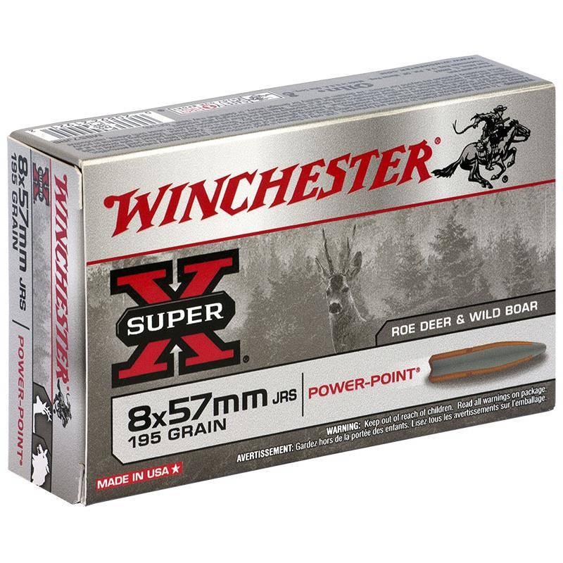 Balle De Chasse Winchester Power Point - 195Gr - Calibre 8X57 Jrs