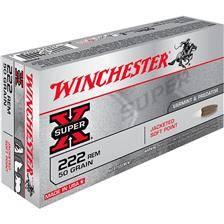 Balle de chasse winchester power point - 50gr - calibre 222 rem
