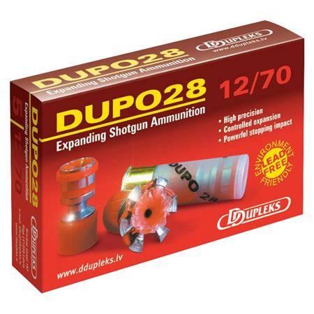 Balle De Fusil Ddupleks Dupo - 28G - Calibre 12/70