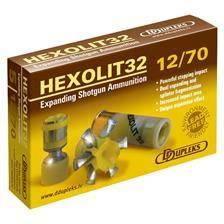 Balle de fusil ddupleks hexolit - 32g - calibre 12/70