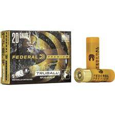 Balle de fusil federal premium vital shok slug - 21g - calibre 20