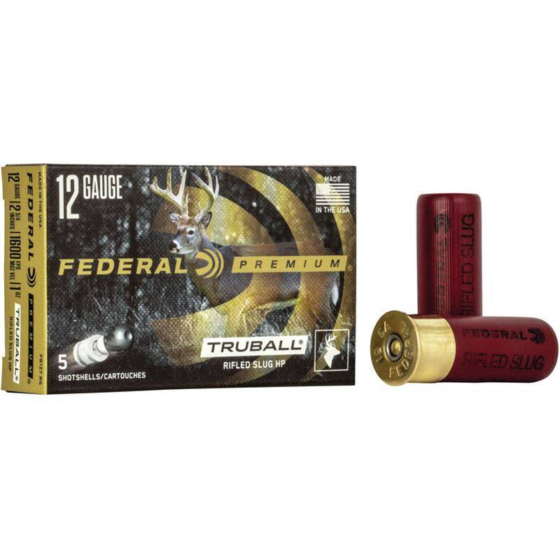 Balle De Fusil Federal Premium Vital Shok Slug - 28G - Calibre 12