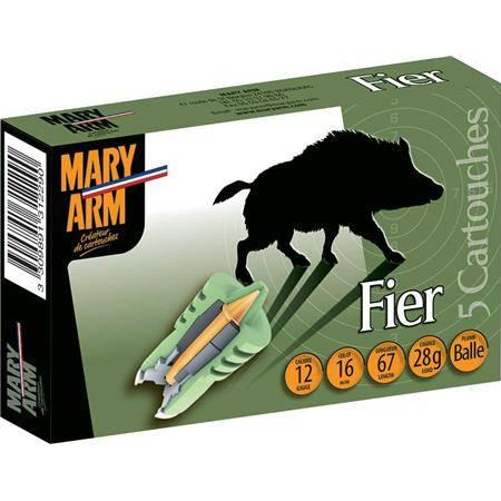 Balle De Fusil Mary Arm Fier - 28G - Calibre 12