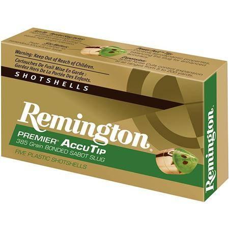 Balle De Fusil Remington Copper Solid Slug - 25G - Calibre 12