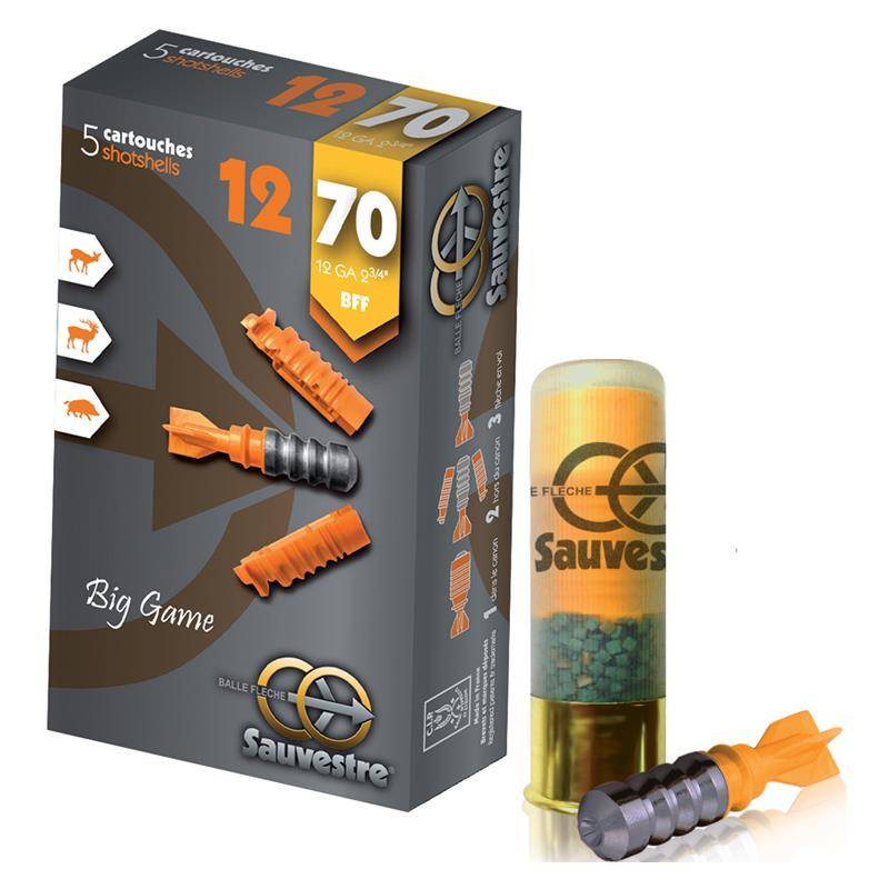 Balle De Fusil Tunet B.Sauvestre Flexible - 26G - Calibre 12
