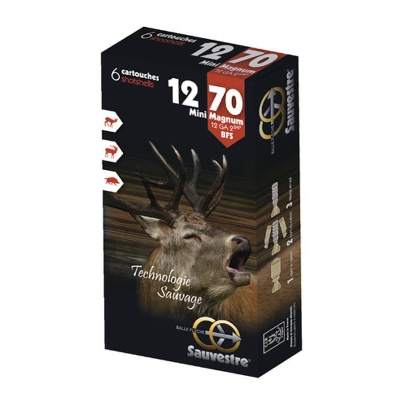 Balle De Fusil Tunet Sauvestre - 22.5G - Calibre 12/70