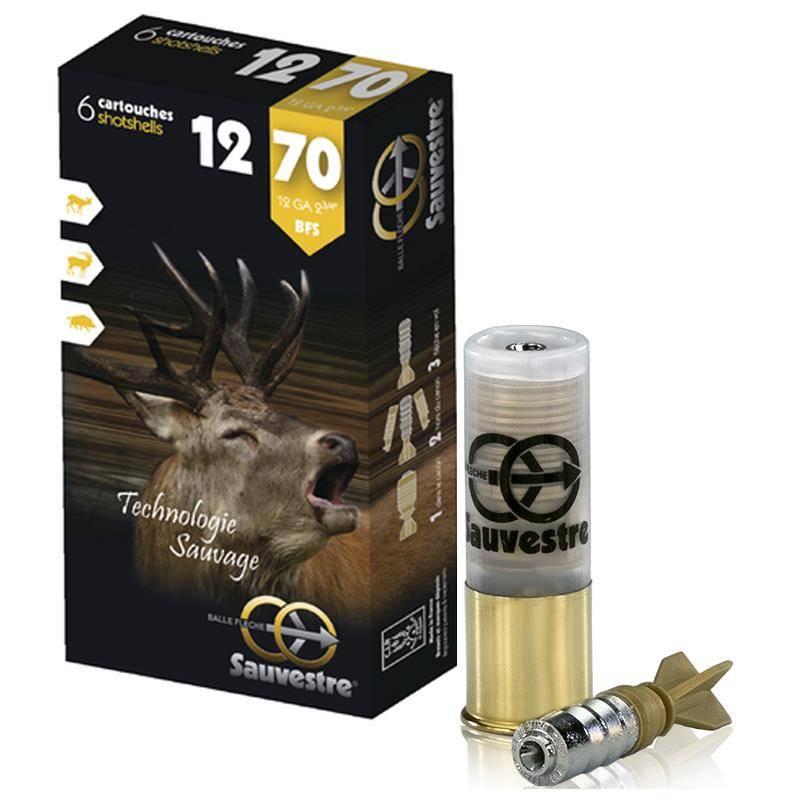 Balle De Fusil Tunet Sauvestre - 26G - Calibre 12/70