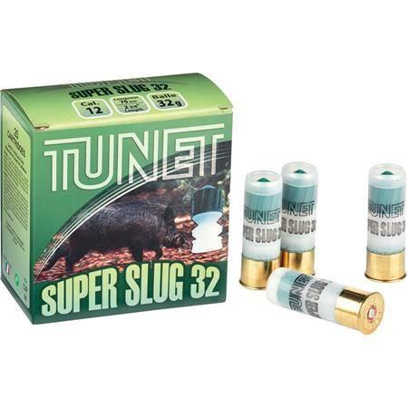 Balle De Fusil Tunet Slug - 32G - Calibre 12