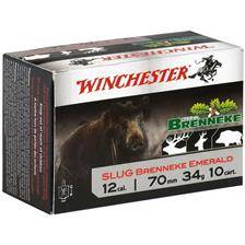 Balle de fusil winchester brenneke emerald - 34g - calibre 12/70