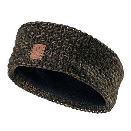 Bandeau Femme Deerhunter Lady Knitted Headband - Kaki