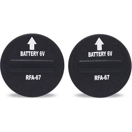 Batterie De Rechange Pour Collier Electronique Petsafe 6V Longue Duree - Par 2