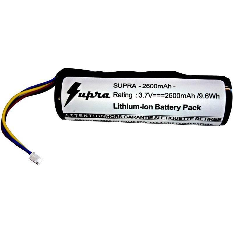 Batterie Supra 2600 Mha Compatible Collier Dc50 Et Gamme Tt