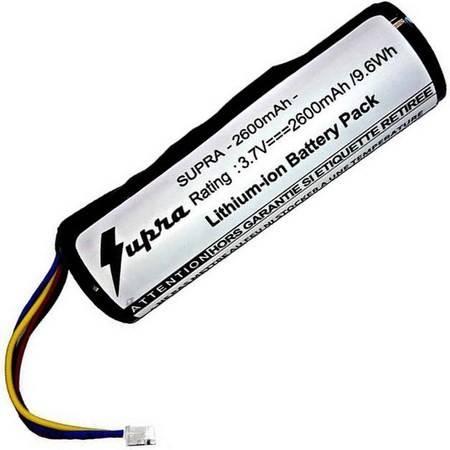 Batterie Supra 2600 Mha Compatible Collier Garmin Dc50