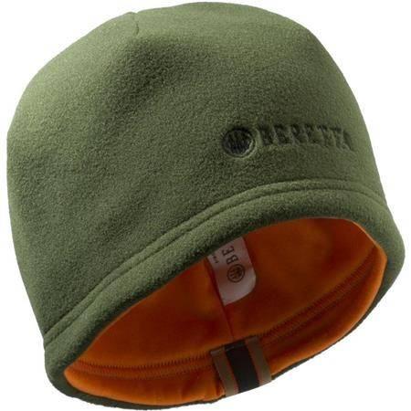 Bonnet Homme Beretta Reversible Beanie - Vert/Orange