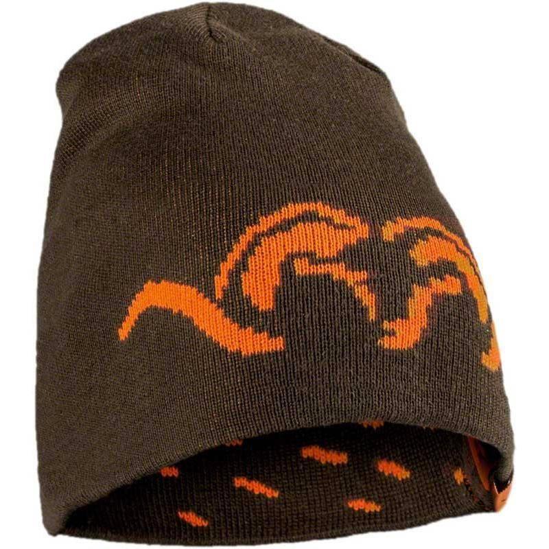 Bonnet Homme Blaser Argali Reversible - Kaki/Orange