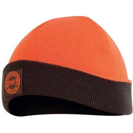 Bonnet Homme Hart Radiant Reversible - Kaki/Orange