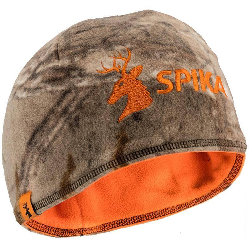 Bonnet Homme Spika Reversible - Camo/Orange