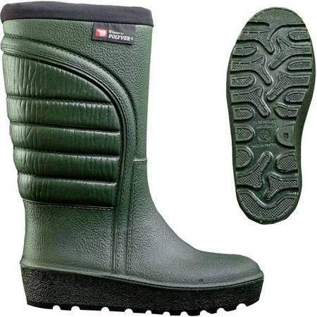 Bottes Homme Grand Froid Polyver Winter - Vert