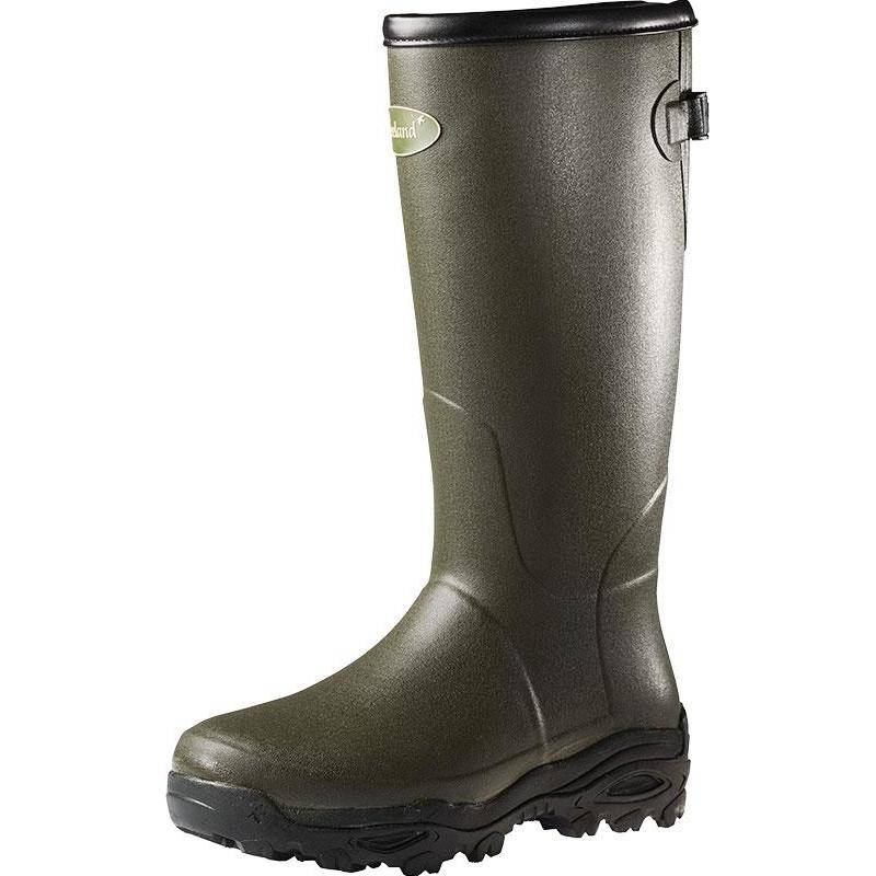 """BOTTES HOMME SEELAND COUNTRYLIFE 18"""" - 3.5MM - VERT"""