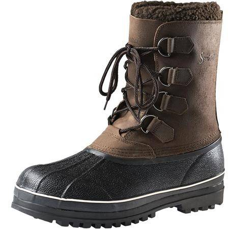 """BOTTES HOMME SEELAND GRIZZLY PAC 10"""" - MARRON"""