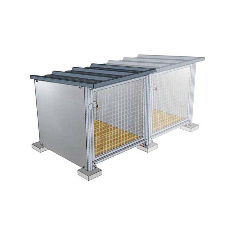 Box D'attente Difac Toiture Laquee Module Supplementaire
