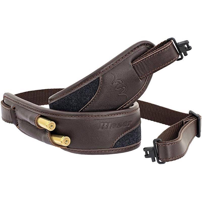 Bretelle Carabine Blaser Loden/Cuir