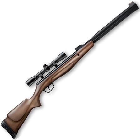 Carabine À Plomb Stoeger Airguns Rx20 S3 Suppressor Bois Combo