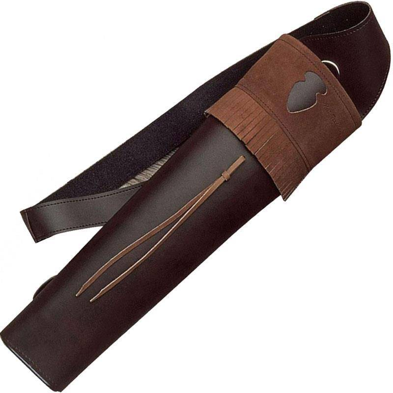 Carquois Dorsale Europ Arm Cuir